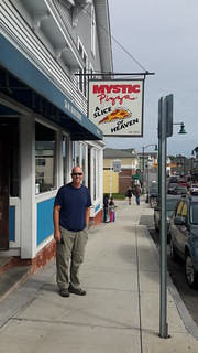 Pizza lunch at Mystic Pizza