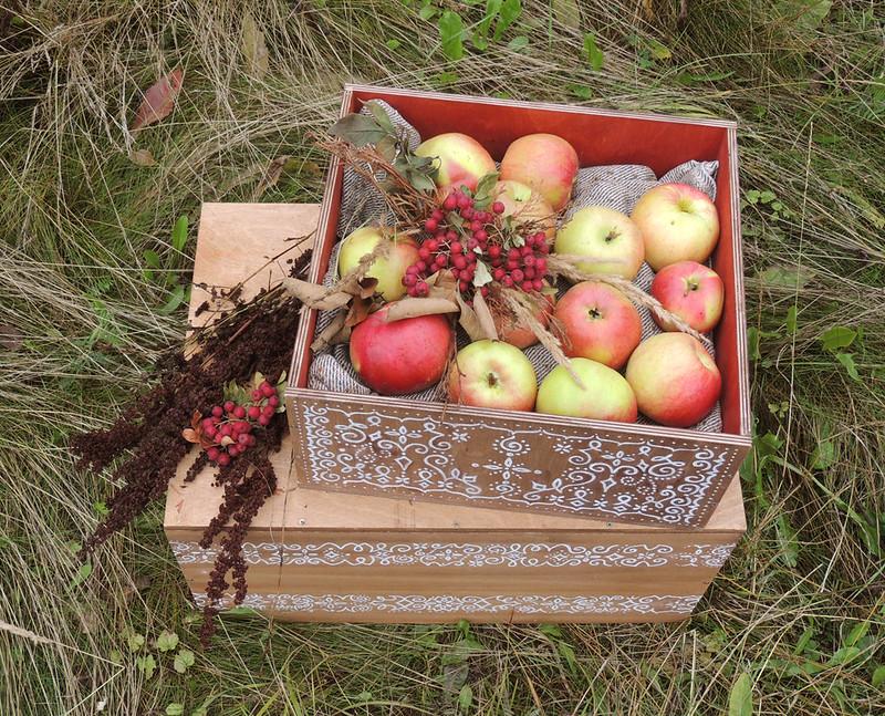 деревянный ящик 4