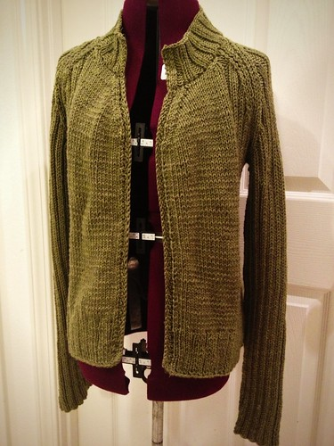 Scotch Moss Cardigan - full