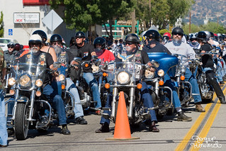 Bikers at Tehachapi Rally