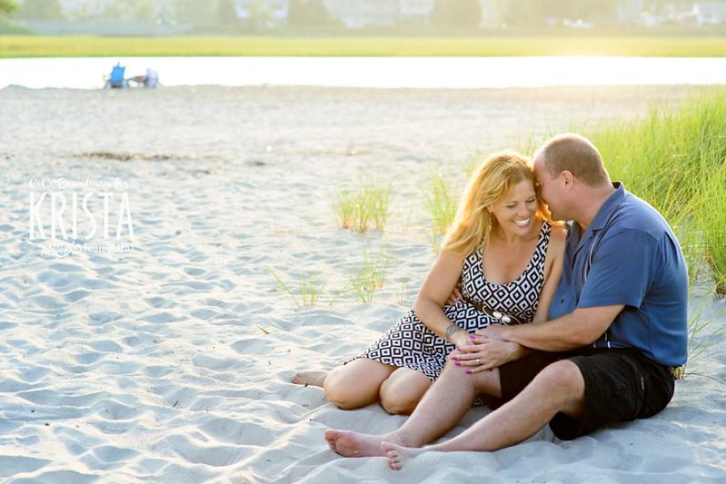 Engagement Portrait Session at Good Harbor Beach, Gloucester