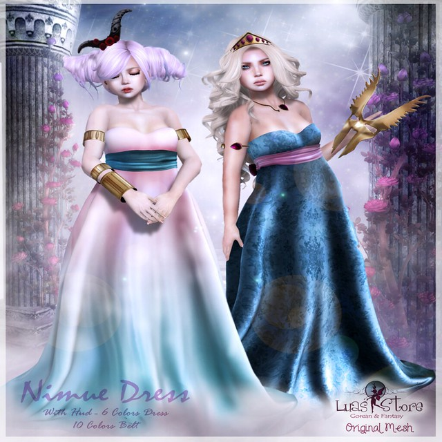 LUAS NIMUE DRESS VENDOR