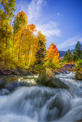 Fall Over creek