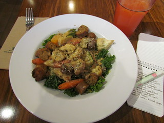 Harvest Bowl at Veggie Grill (Downtown)