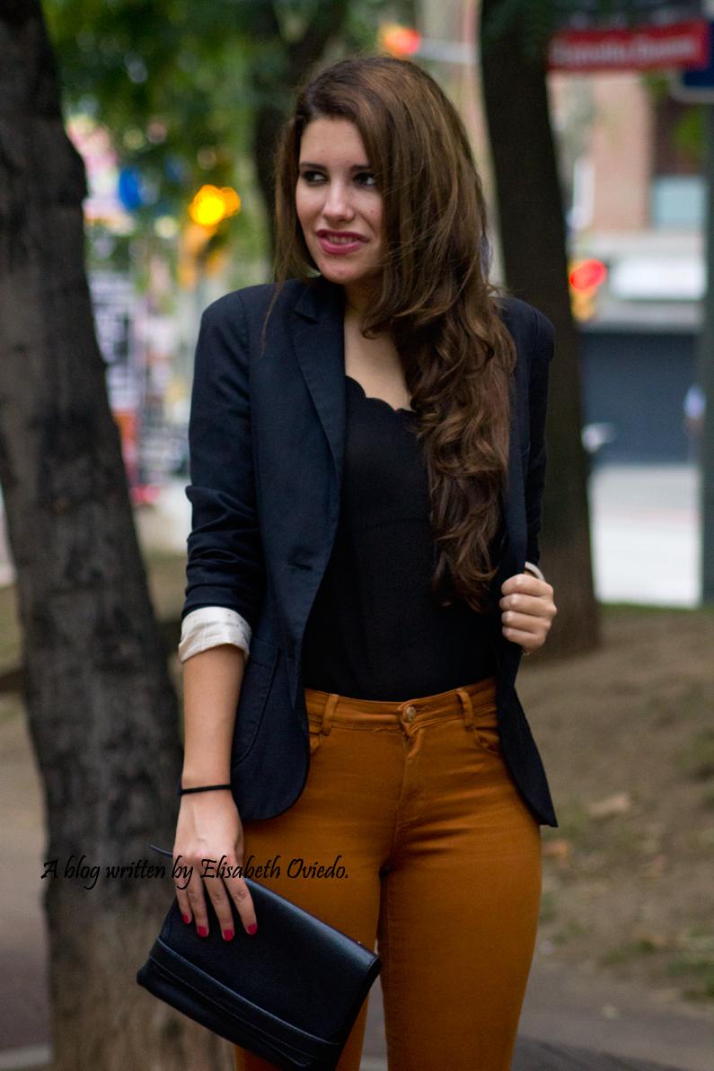 look pantalones mostazas HEELSANDROSES (1)