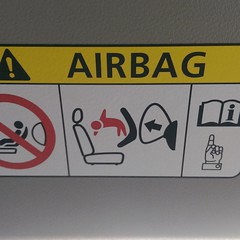 So, if I'm not mistaken about this airbag, when deploying a baby comes out?