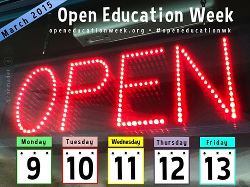 Open Education Week: March 9-13