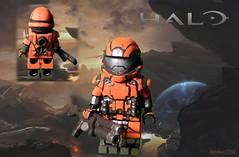 Lego Halo ODST Custom Minifig