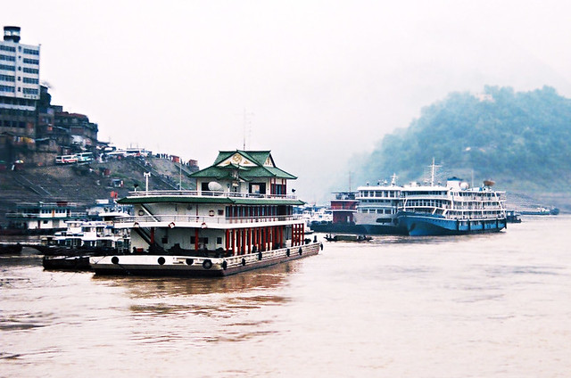 Riverboat, Yangtse River, China