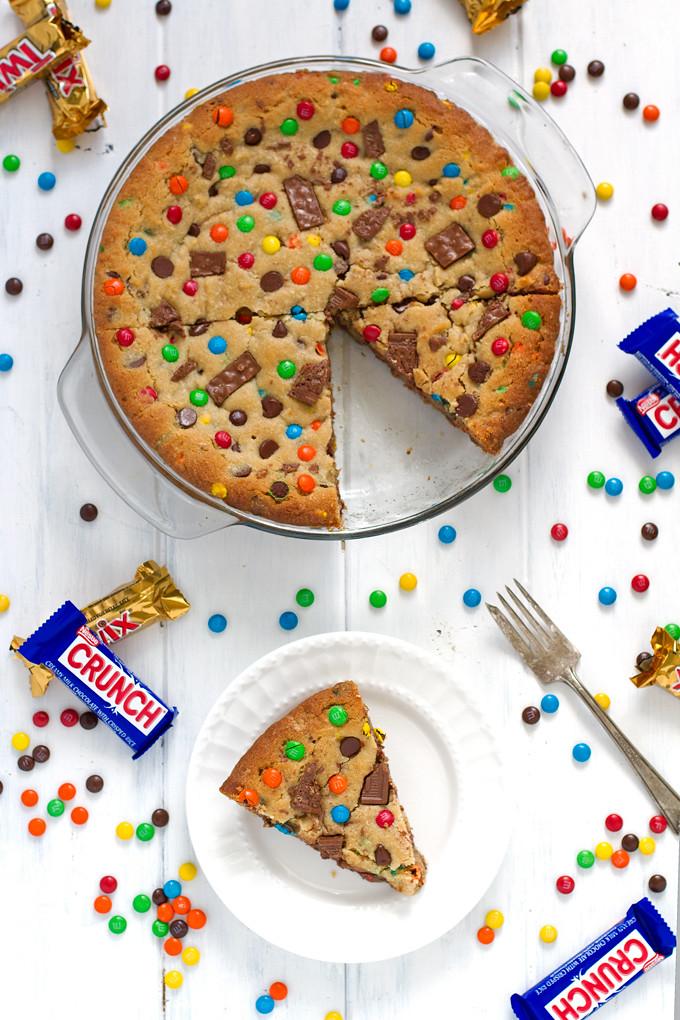 M And M Cookie Cake Recipe