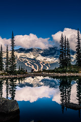 Harmony Lake with Blackcomb Mountain