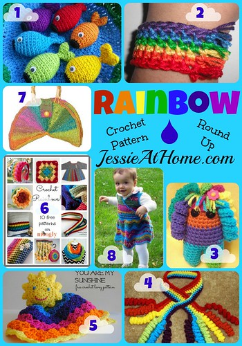 Rainbow Crochet Pattern Round Up