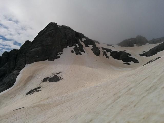Gipfel Großer Kinigat in Sicht, es ist aber noch ein schönes Stück