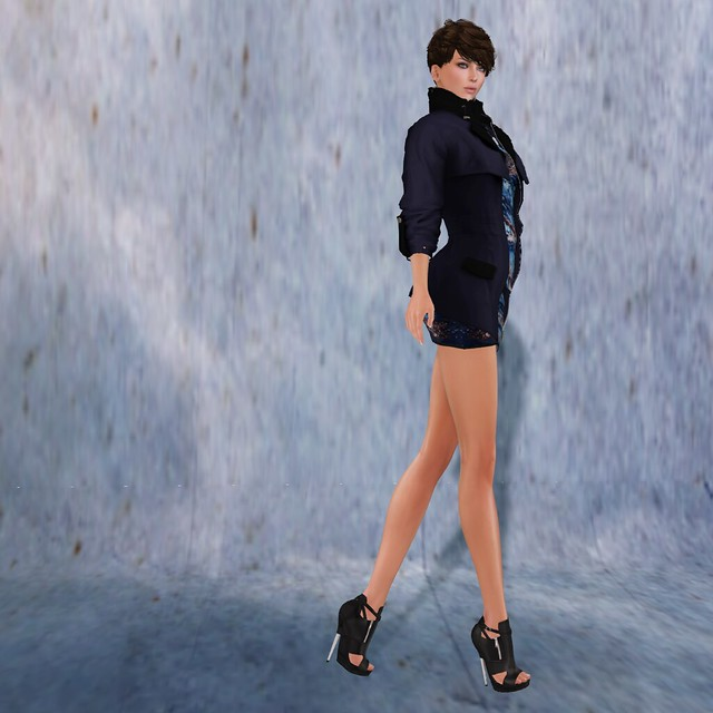 Short Skirt Long Jacket | A Passion for Virtual Fashion