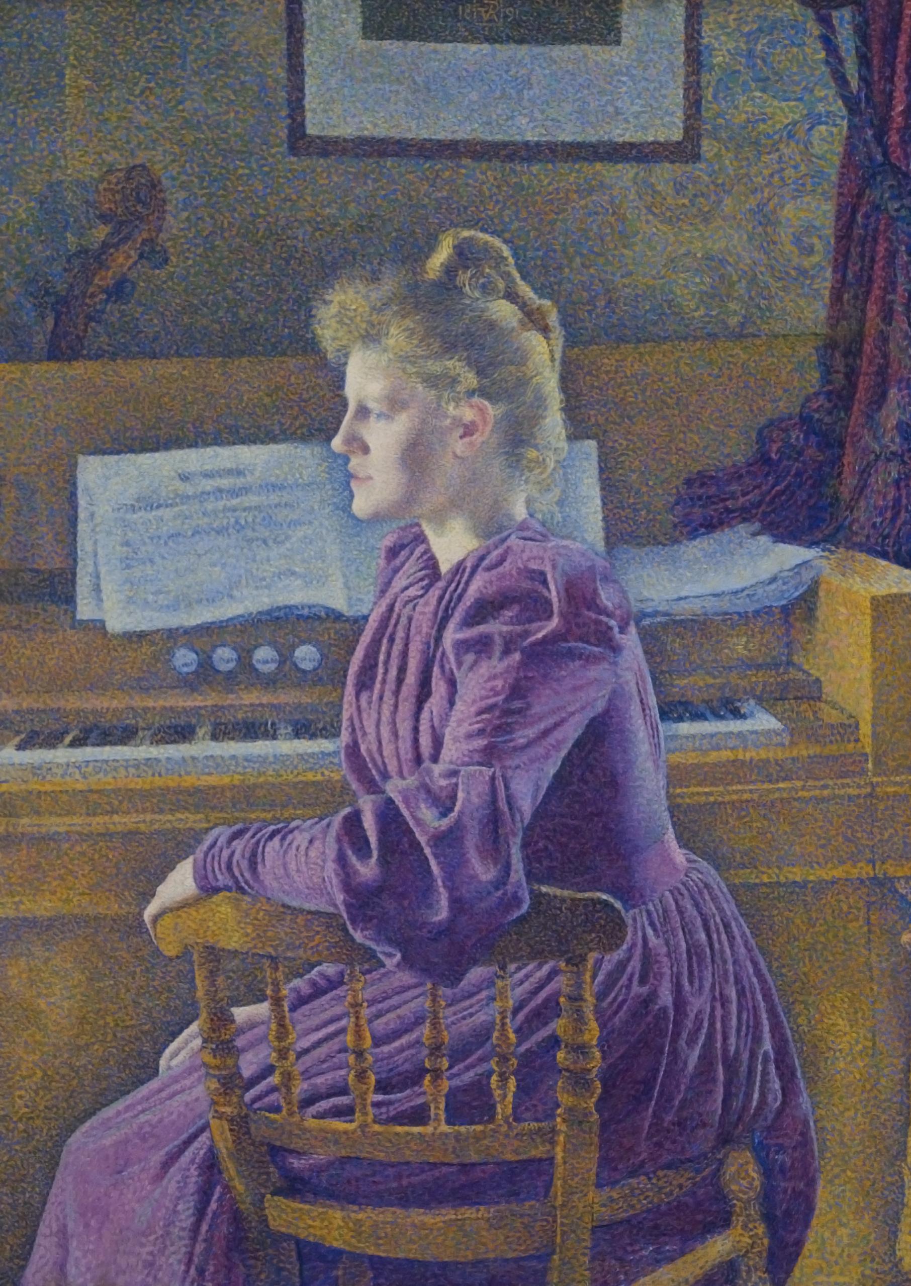 Théo van Rysselberghe - Mevrouw Henry Van de Velde-Sèthe  [1921]