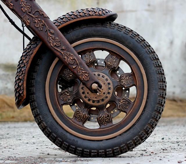 Как сделать колесо для мопеда
