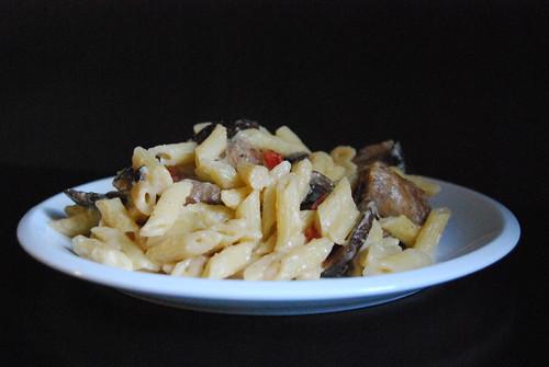 Sausage Alfredo Pasta