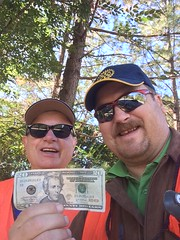 Steven Nelson and Jim Morgan find $20!