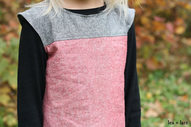 heidi & finn color block tunic