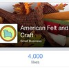 AFCs #facebook page just hit 4000 likes!!!! #ProudMama #smallbusiness #CupcakeWorthy. www.facebook.com/FeltandCraft