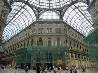 Nápoles - Galería Umberto I