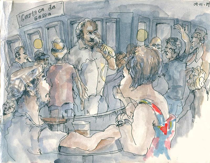 Rixxa at Carioca da Gema