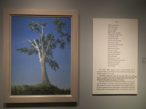 "Alex Colville, ""Elm Tree at Horton Landing"" (1956)"