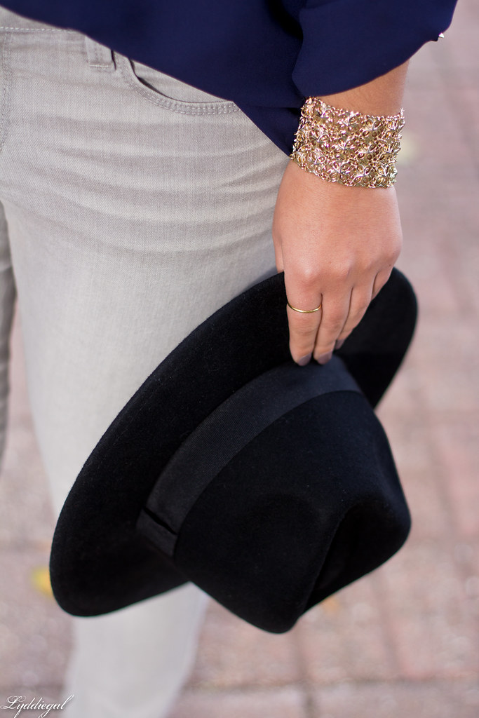 grey denim, navy blouse, wool fedora-6.jpg