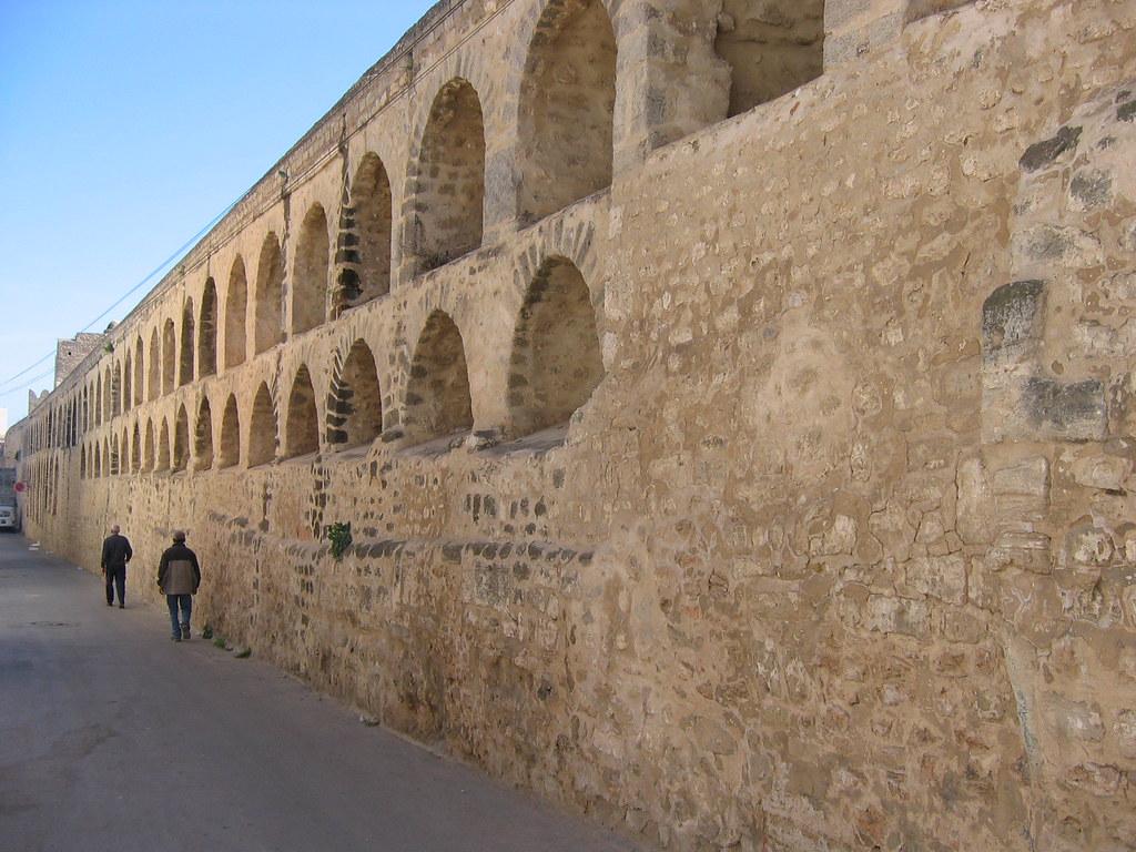 Medina Walls, Sousse, Tunisia