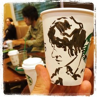 #japon #urbansketch #starbucks #pentel #pentelpocketbrushpen #portraits