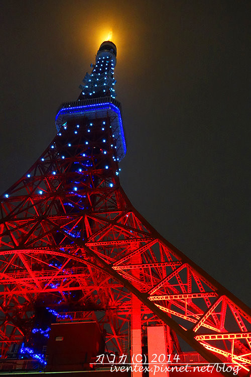 11刀口力日本東京鐵塔