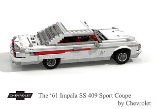 Chevrolet Impala SS 409 CID Sport Coupe - 1961