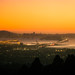An Oakland Hills Sunset by Thomas Hawk