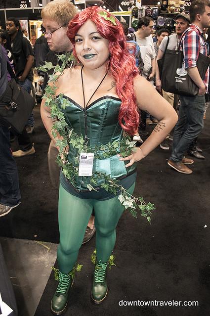 NY Comic Con 2014 Poison Ivy 6