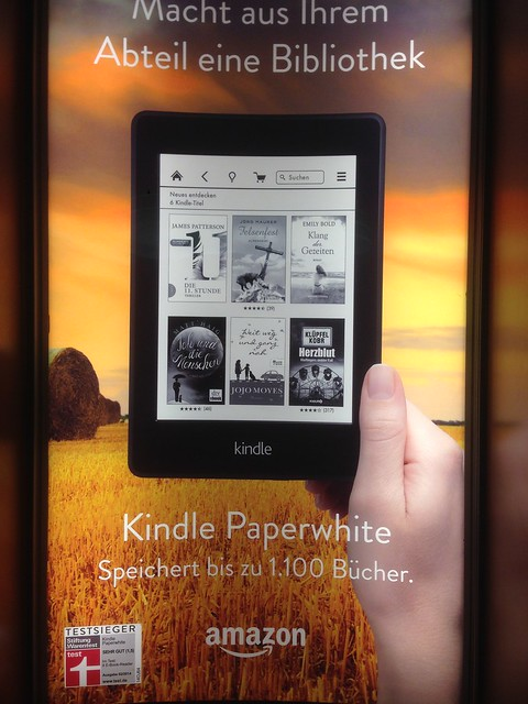 Amazon Kindle Paperwhite - Publicité Allemagne