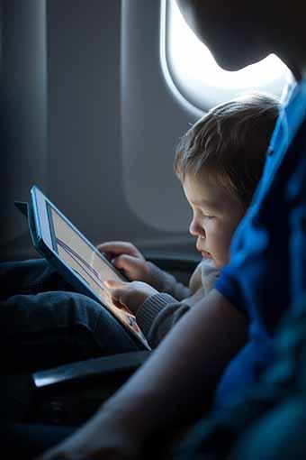 LAN Uso de dispositivos móviles en todo el vuelo (LAN)