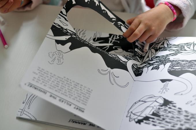 Paul&Paula blog: Evolution // A coloring book