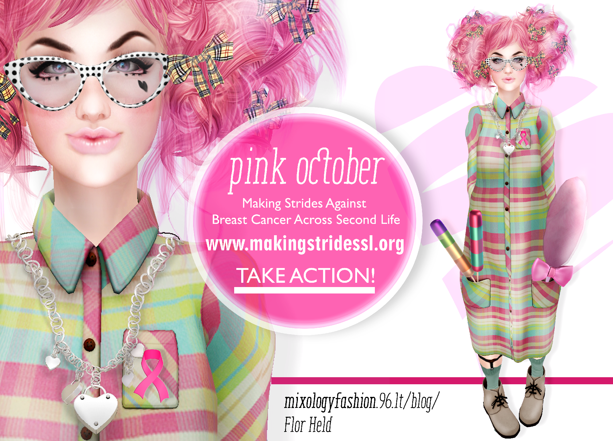 Pink October: Action of love.