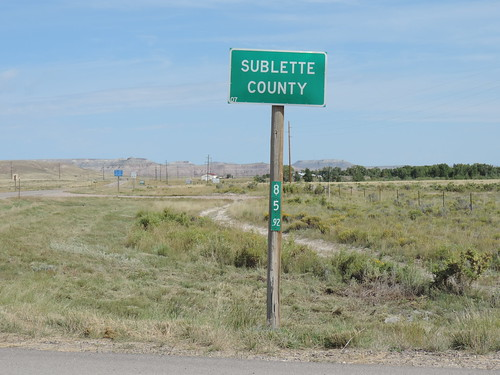 Entering Sublette County