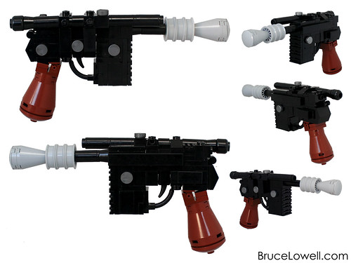 LEGO Han Solo pistol, by Bruce Lowell, on Flickr