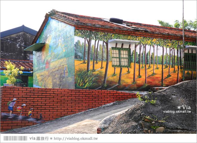 【關廟彩繪村】新光里彩繪村~在北寮老街裡散步‧遇見全台最藝術風味的彩繪村38