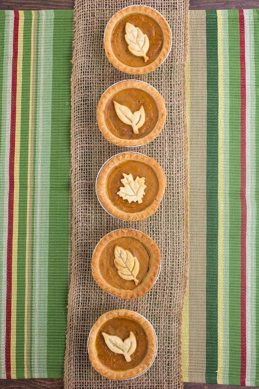 Skinny Mini Pumpkin Pies made with Sweet'N Low #SweetNLowStars