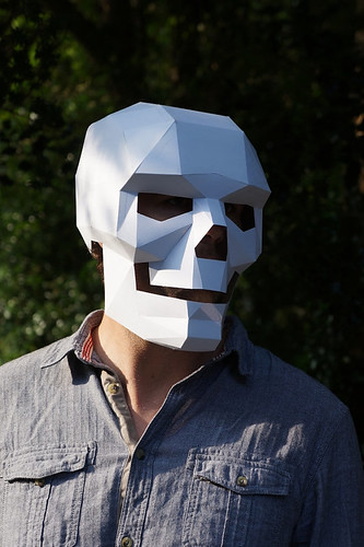 DIY Skull Mask - Wintercroft