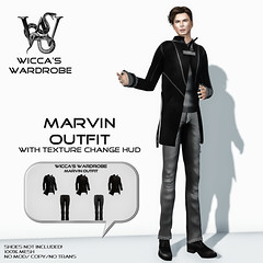 Wicca\'s Wardrobe - Marvin