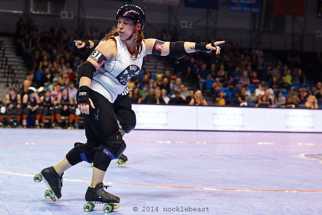 roller derby surrealism