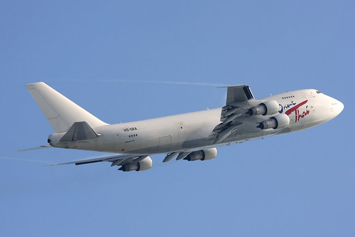 Aircraft (B742) silhouette
