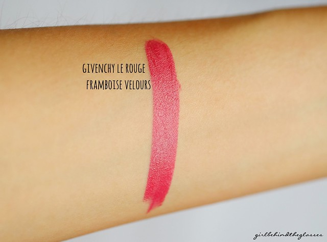 Givenchy Le Rouge Framboise Velours swatch