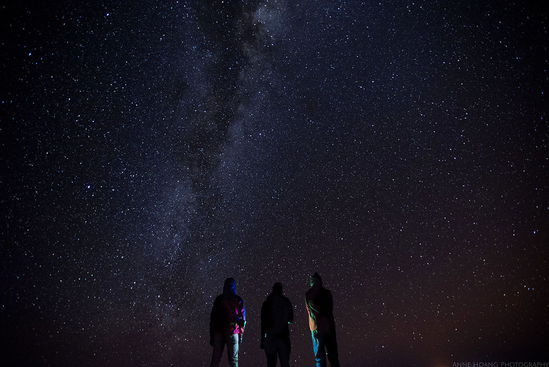 Star lit sky in Bolivia