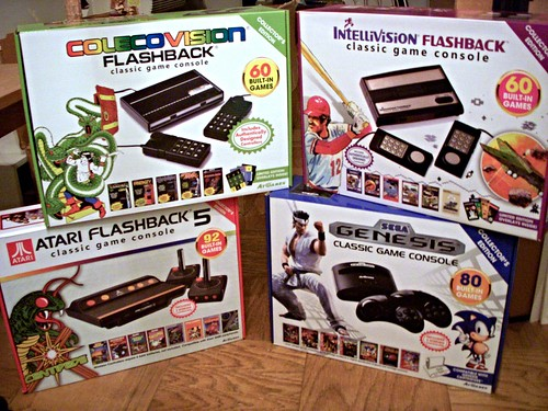 Anteprima Atari Intellivision E Colecovision Flashback – Desenhos