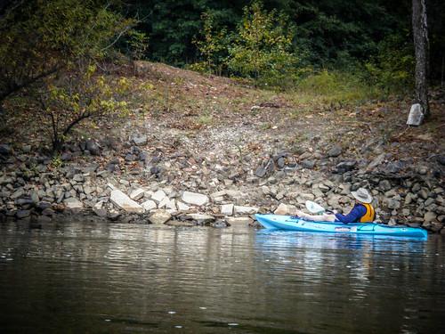 Savannah River from Stokes Bluff with LCU Nov 7, 2014, 4-18 PM Nov 8, 2014, 9-033